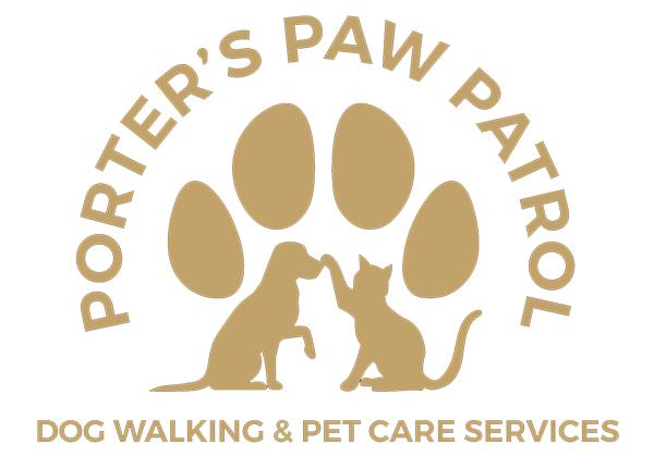 Porter's Paw Patrol Logo